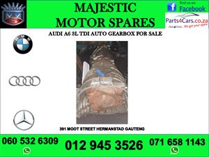 Audi A6 3.0 tdi gearbox for sale