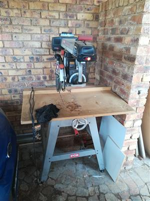 ryobi radial arm saw and planer combo