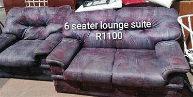 6 Seater lounge suite for sale