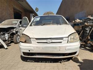 HY022 HYUNDAI GETZ 1.3 2003 *STRIPPING FOR SPARES