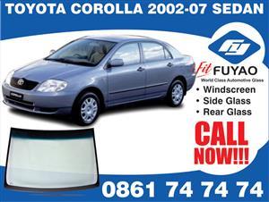 Windscreen for sale for Toyota Corolla 558N Runx Hatchback 2002-2007 #5534