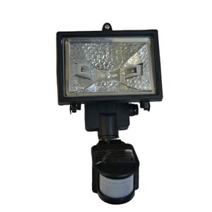 Floodlight JM-150G W/Sensor 150W BLK