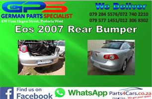 VW Eos 2007 Rear Bumper for Sale