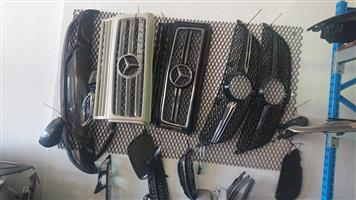 Mercedes Benz G WAGON GRILLS