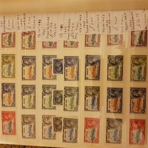 Stamp collections for sale