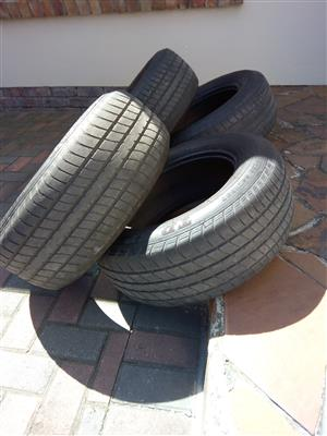 Classic Metric R390 Dunlop tyres used in good nick