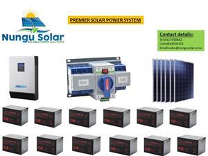 5000w 48v Premier Solar System
