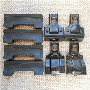 Thule Kit 1590 Volvo S40 roofrack rubber