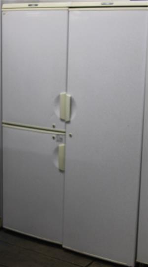 Aim 3 door white fridge S036004A