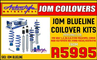 Jom Blueline Coilovers available