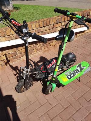 Zingo scooters x 2