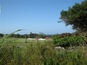 Vacant Land with Sea Views-Close to CBD -for sale in Port Edward.