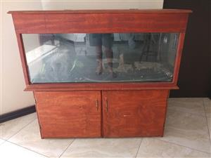 240L Fish Tank with Stand
