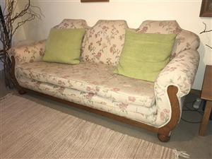 Antique lounge suite