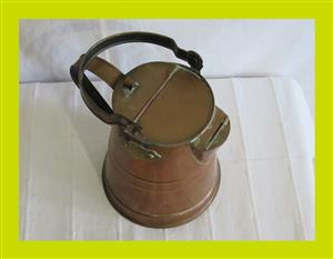 Vintage Copper Milk Jug - SKU 250