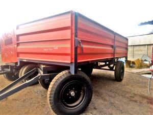 Verrigter 10 Ton Bulk Trailer / 10 Ton Massa Wa New Trailer