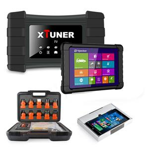 TRUCK DIAGNSOTIC MACHINE XTUNER T1 HD Heavy Duty Trucks Auto Diagnostic Tool comes with tablet