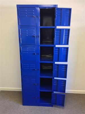 STEEL LOCKERS - CUSTOM OR STANDARD - AVAILABLE IN VARIOUS COLOURS