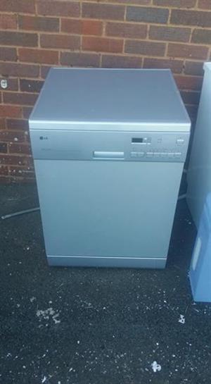 LG 3 in 1 dishwasher.