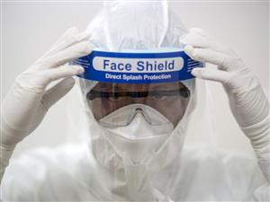 Face Shield, Safety Shield, Clear Face Protection Shield Industrial Clear Face Protection Shield