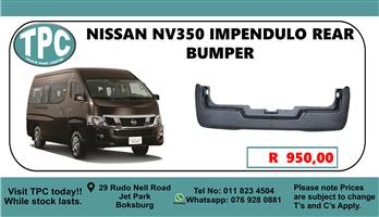 Nissan NV350 Rear Bumper - For Sale at TPC.