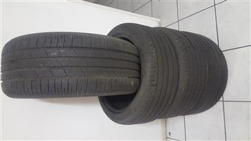 Good second hand 18 inch tyres