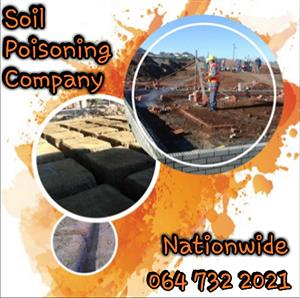 Soil Poisoning Services & Compliance Certificate - 064 732 2021