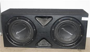 Pioneer subwoofer speakers 1000 watts S037045A #Rosettenvillepawnshop