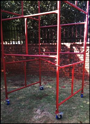 SCAFFOLDING 6M H X 1.5M W COMPLETE SET OF HIGH QUALITY SPECIAL PRICES