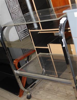 Glass tv stand S033342O #Rosettenvillepawnshop