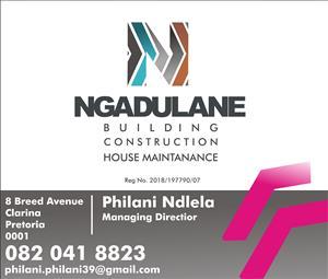 Ngadulane Construction we the best in housing maintenance