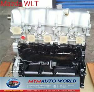 Imported used  MAZDA B 2500 2.5L  DIESEL TURBO MANUAL, WLT manual engine