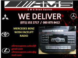 MERCEDES BENZ W204 FACELIFT RADIO FOR SALE