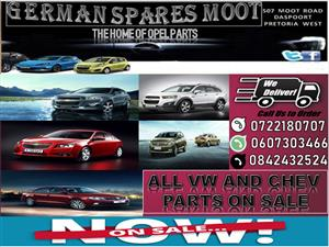 ALL VW AND CHEV PARTS ON SALE.