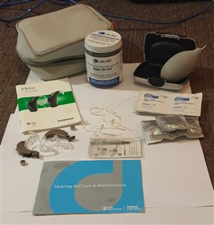 Phonak Hearing Aids Set for Sale - Very Good Condition, Barely Used - R15 000.00 (Slightly negotiable)
