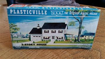 Plasticville 2 Story house for sale