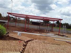 Roodepoort Steel carports & shedports for new installation also repairs of old structures contact us today -quality carports which can last many years highly prevent from heavy hail and sun