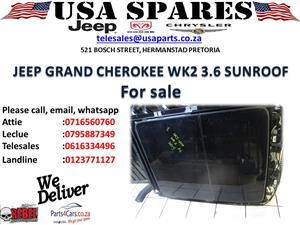 JEEP GRAND CHEROKEE SUNROOF FOR SALE