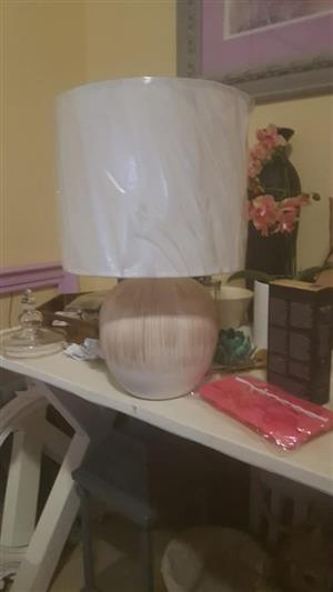 Big white lamp for sale