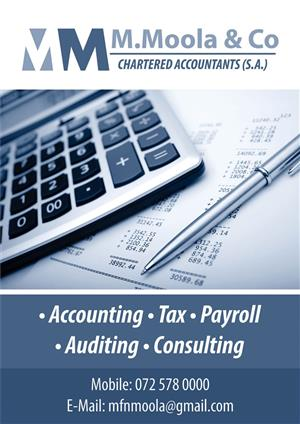ACCOUNTING AND BOOKKEEPING SERVICES AVAILABLE