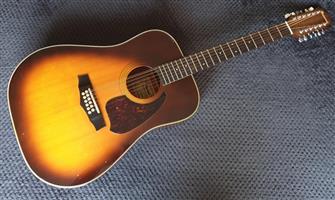 Vintage 81 Ibanez 12 String Acoustic Guitar - Made in Japan for sale  George