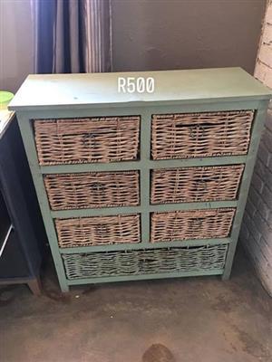 Green basket drawer for sale