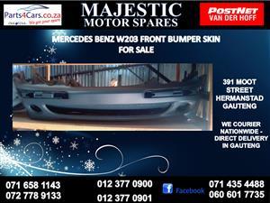 Mercede benz w203 bumper skin for sale