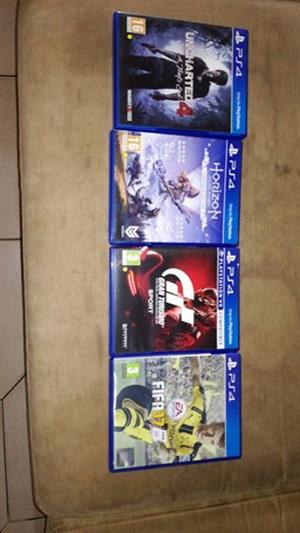 4 PlayStation games
