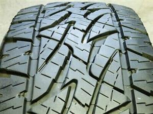265/65R17 BRIDGESTONE DUELER A/T TYRES FOR SALE