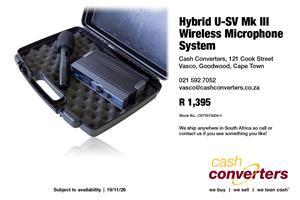 Hybrid U-SV Mk III Wireless Microphone System