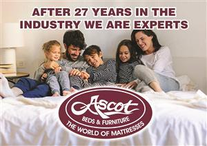 ASCOT BEDS & FURNITURE NOVEMBER MADNESS DEALS