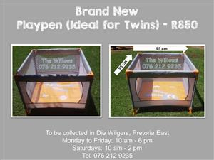 Brand New Playpen (Ideal for Twins)
