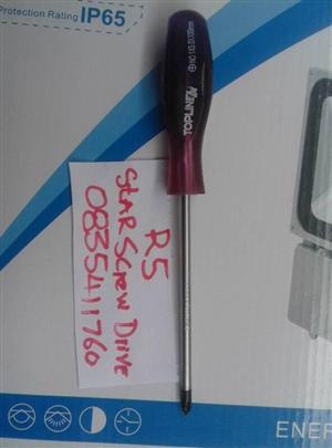 Star screwdriver for sale