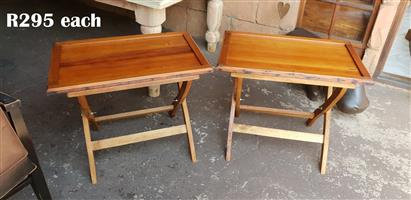 Oregon Pine Tray Table (745x475x620) EACH R295